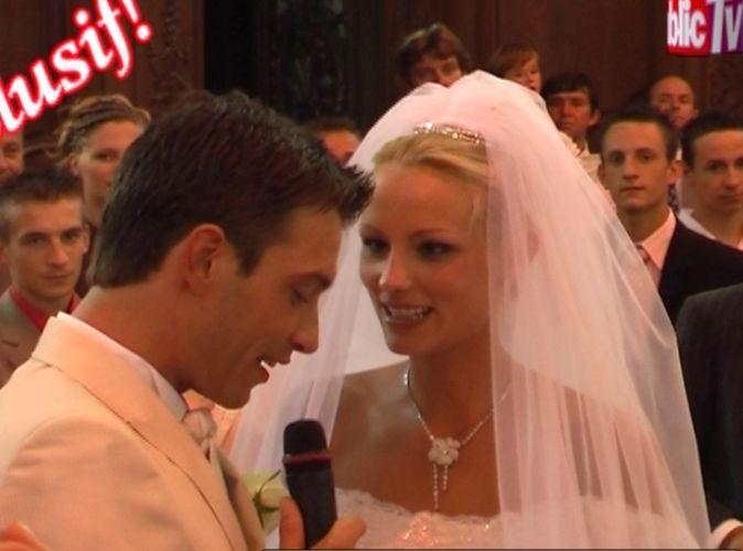 Exclu vidéo  10 ans de Public  le mariage d\u0027Élodie Gossuin et Bertrand  Lacherie en 2006 !