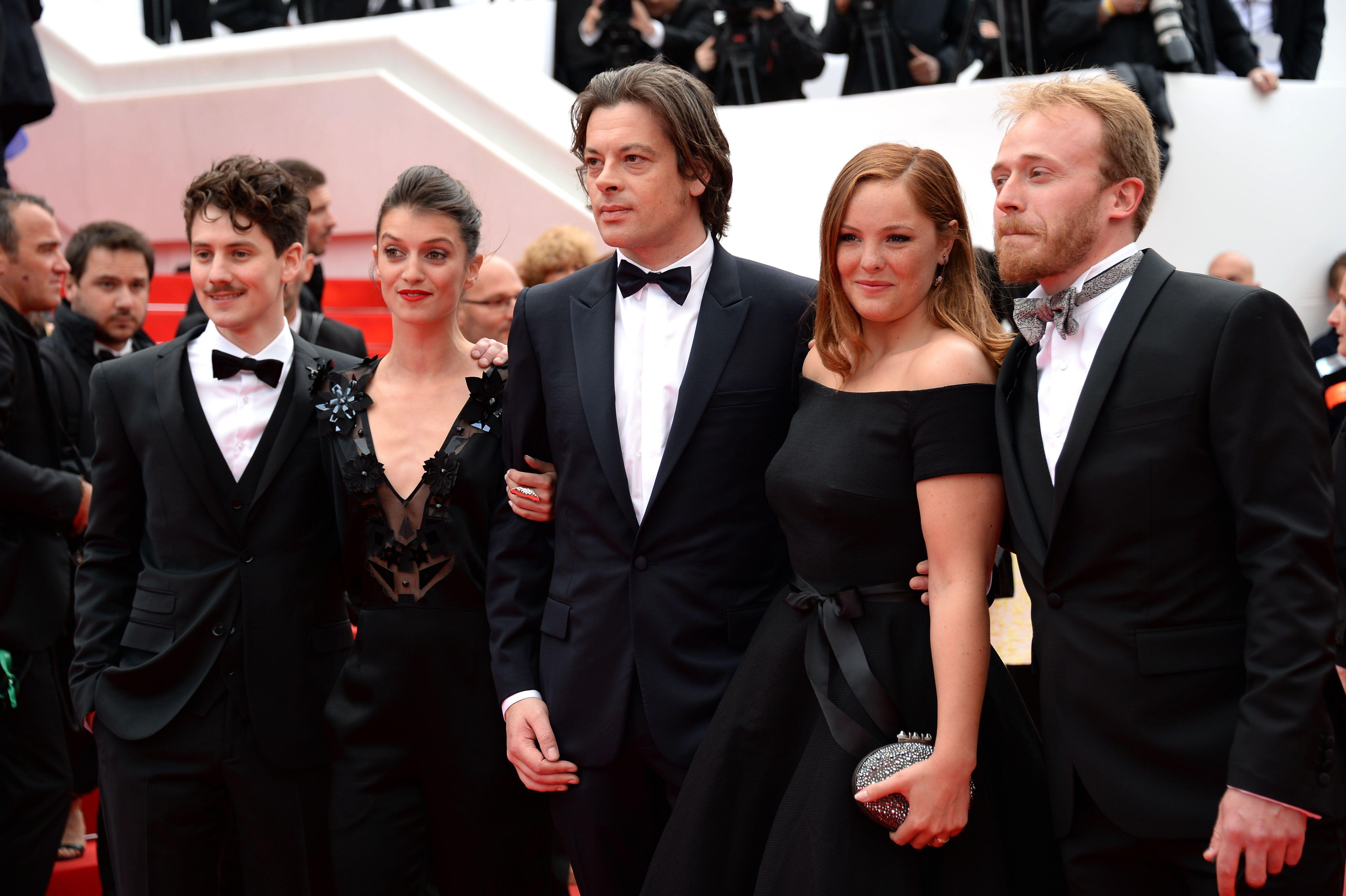 ef3bd738e31 Cannes 2014   Barbara Probst ose la robe La Redoute sur le tapis rouge !