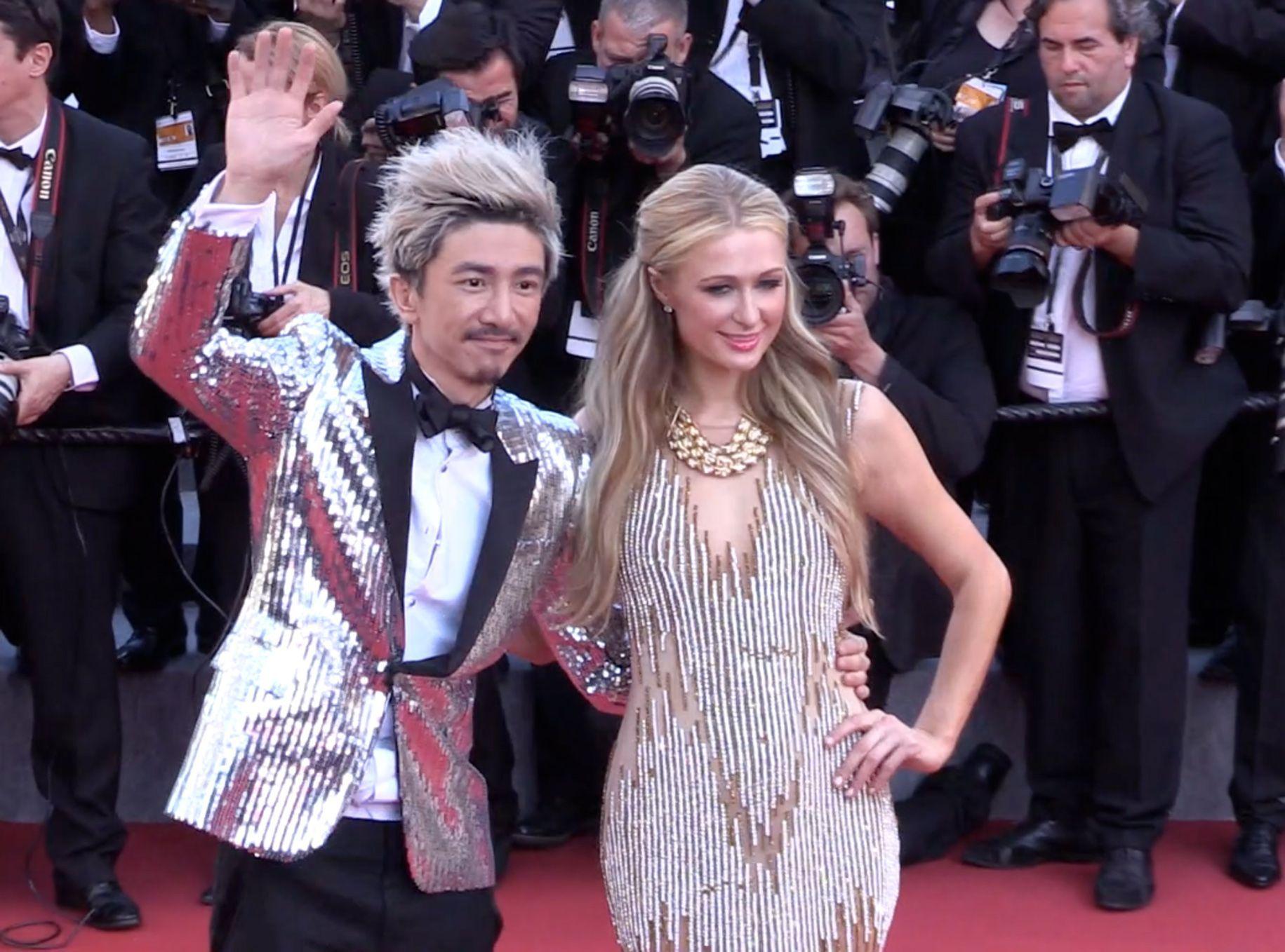 Exclu Vidéo Cannes 2015 Paris Hilton Et Sun Zu Yang Très