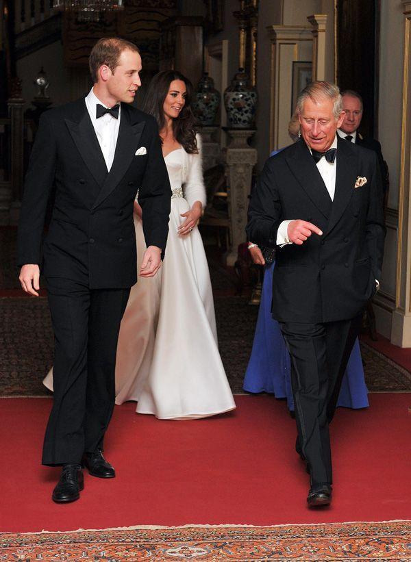 Photos Kate Middleton Sa Deuxième Robe De Mariée Pour