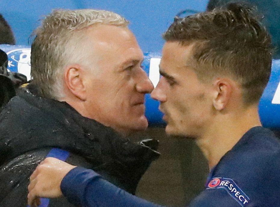 Photos didier deschamps rare apparition avec son fils for Jean dujardin deprime