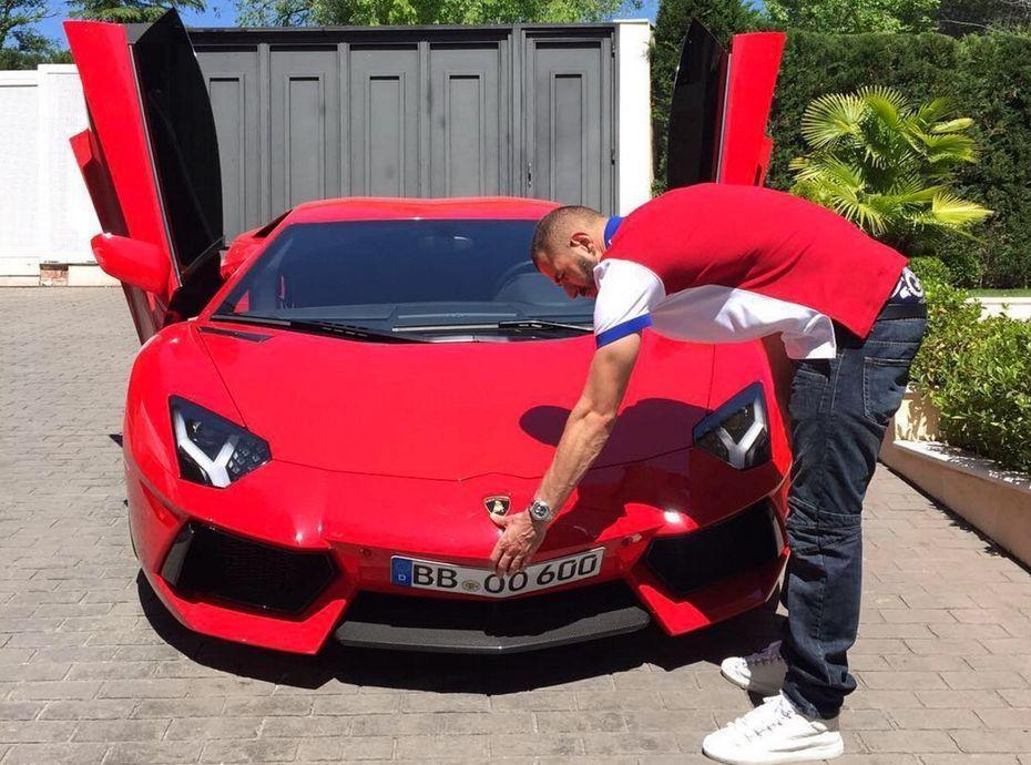 Karim Benzema Pour Sa Lamborghini Il Sort Le Grand Jeu