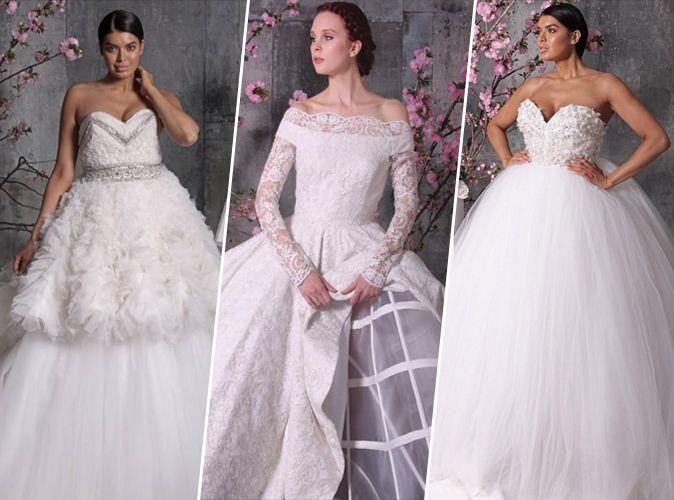 mariage christian siriano d voile sa gamme de robes de