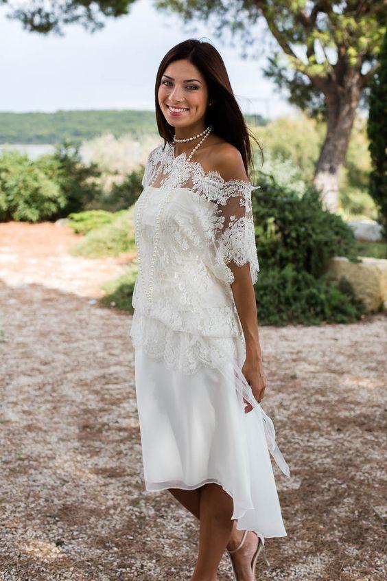 Robe de mariage civil en 60 images