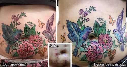 Public Buzz Photos Des Tatouages Gratuits Pour Camoufler Les