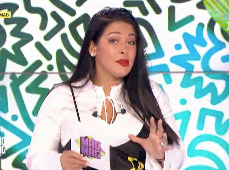 Ayem Nour (Mad Mag) : Sa Sublime Nouvelle Chroniqueuse A Déjà été Bizutée !