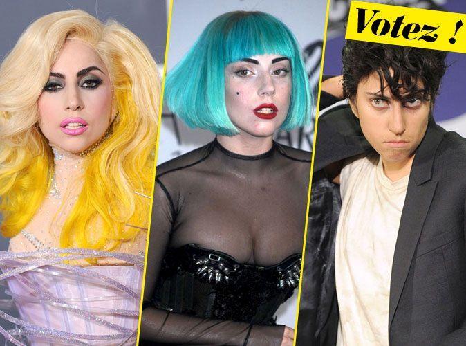 Coiffures De Lady Gaga Quot Jamais Sans Ma Perruque Quot
