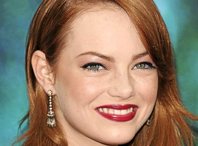 maquillage de star le mode d emploi du make up glam d 39 emma stone. Black Bedroom Furniture Sets. Home Design Ideas
