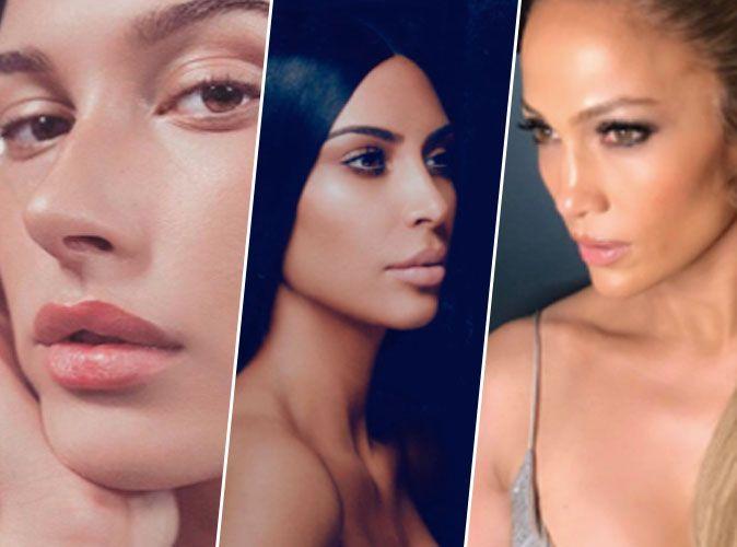 Maquillage fond de teint blush fard paupi res - Comment faire le maquillage de kim kardashian ...
