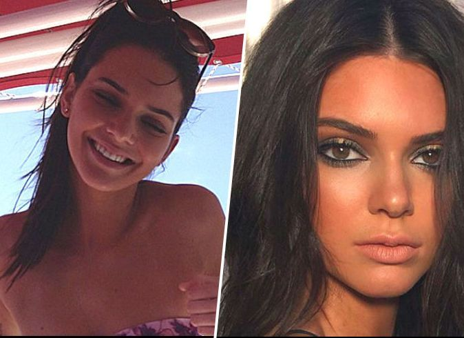 Kendall Jenner Before And After Photoshop Kendall Jenner