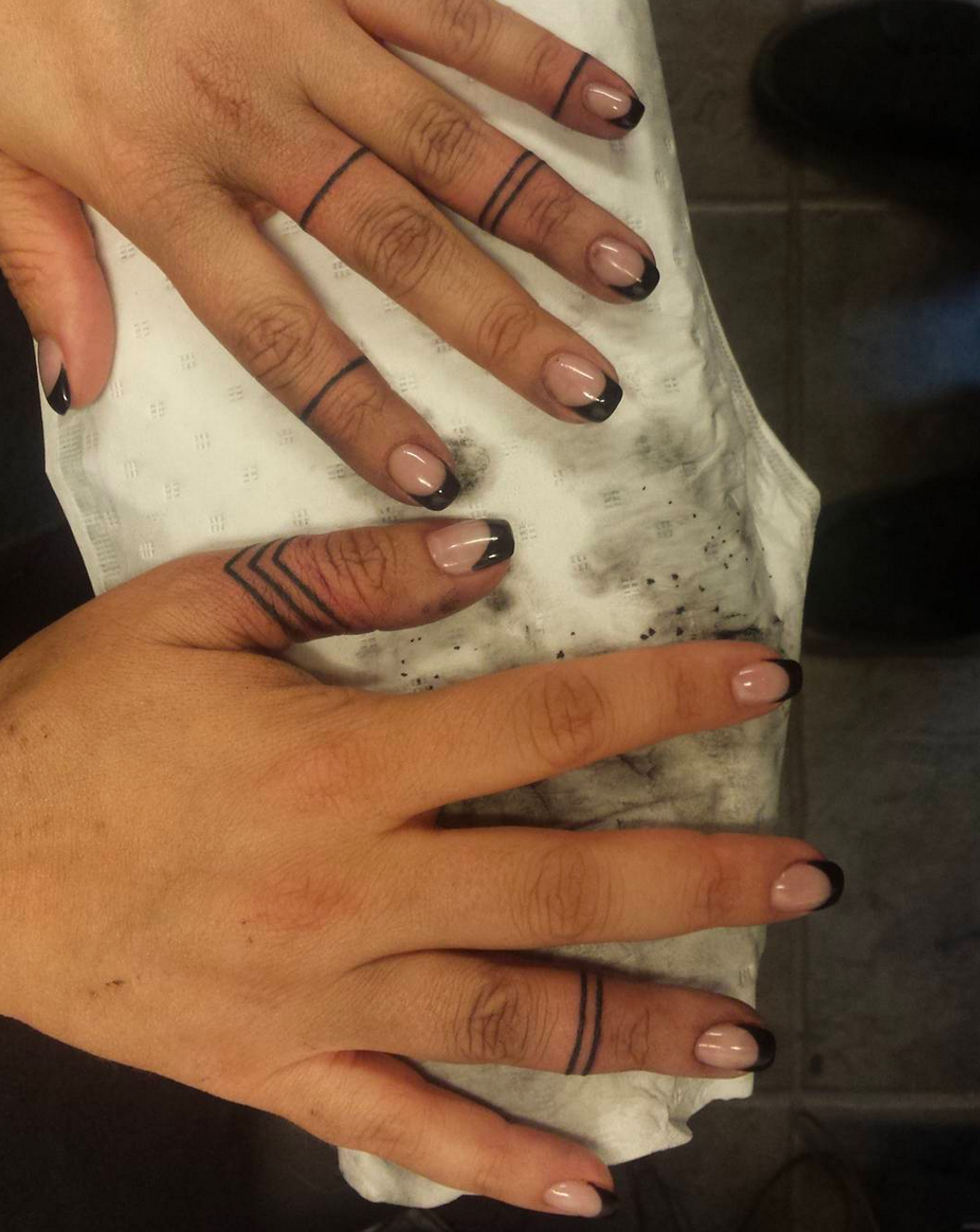 Ring Tattoo Quand Les Tatouages Remplacent Les Bagues