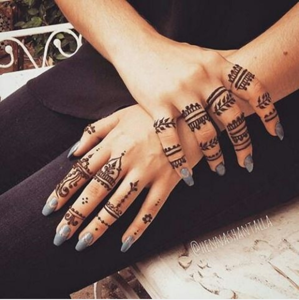 Tatouages 50 Inspirations De Motifs Au Henne Pour Un Ete Caliente