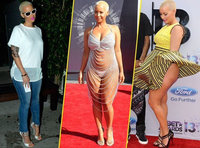 photos   amber rose   d u00e9couvrez le cv fashion d u0026 39 une  u0026quot bad