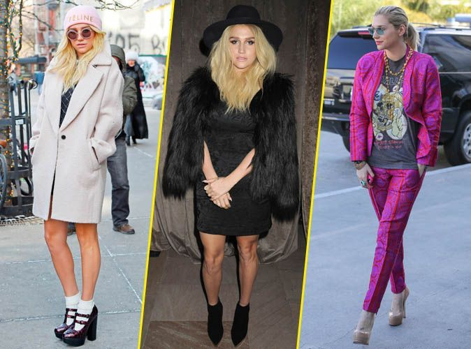 photos   kesha   d u00e9couvrez le cv fashion rock et