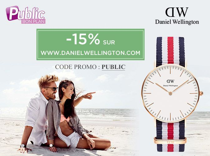 bon plan 15 de r duction sur le e shop de daniel wellington. Black Bedroom Furniture Sets. Home Design Ideas