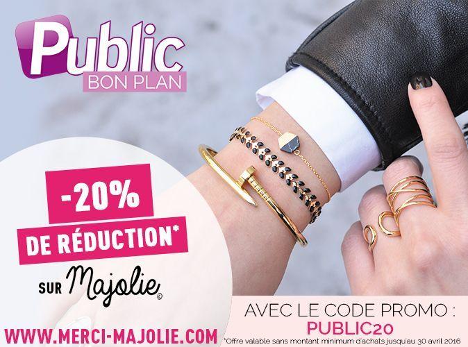 8eb75602521 Bon Plan   bénéficiez de -20 % sur tous les bijoux Majolie !
