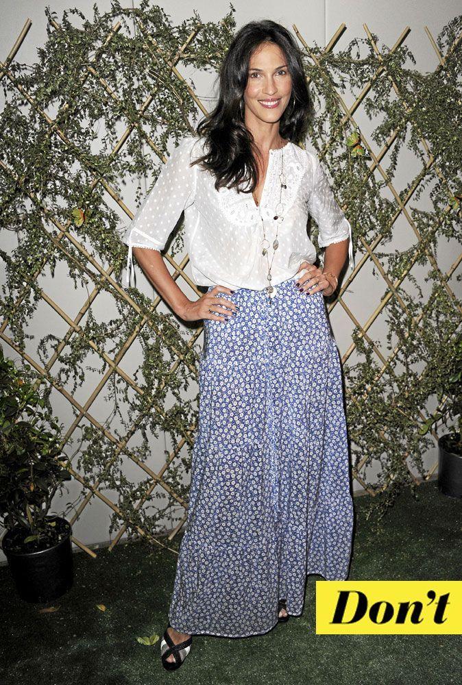 9ad8d91fb7b25e Look de star : comment porter la jupe longue imprimée en été ?