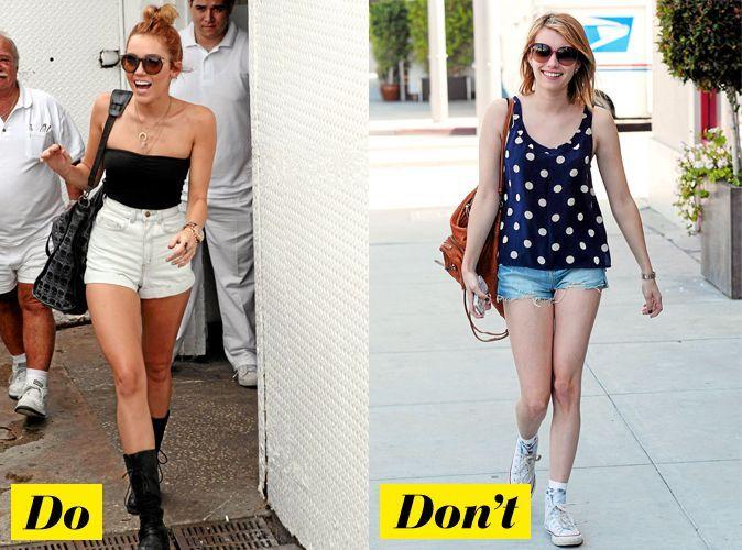 Looks de stars t 2012 comment porter le short en jean d chir - Comment porter le keffieh ...