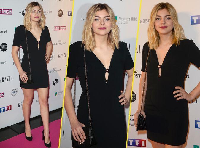 Louane Sexy EmeraPetite Un Et Noire Pour Robe Chic Look F1lJKT3c