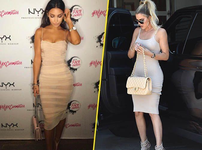 e47be24d629 Sananas VS Khloe Kardashian   Qui porte le mieux la petite robe nude