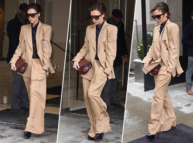 Victoria Beckham : La reine du pantalon flare a encore frappé !