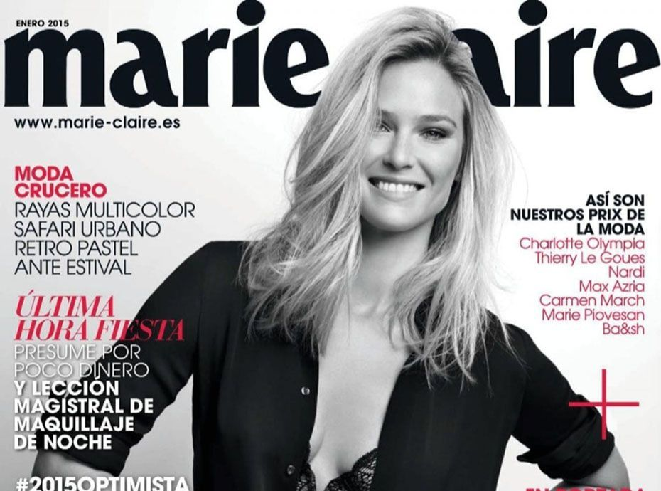 Marie Pose Sexy Refaeli Pour Elle Claire En Lingerie ModeBar WED2Y9IH