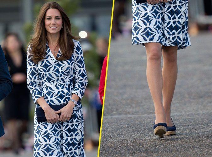 Mode Kate Middleton Fait De Nouveau Fureur Avec Sa Robe Diane Von Furstenberg