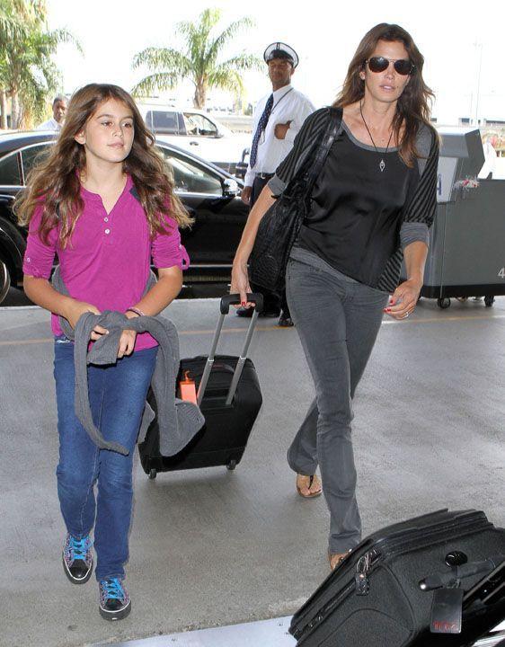 Favori Mode : La fille de Cindy Crawford, 10 ans et nouvelle égérie Versace ! DD89