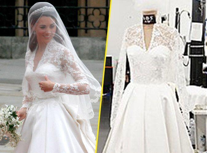 Mode  la réplique de la robe de mariée de Kate Middleton bientôt  disponible !