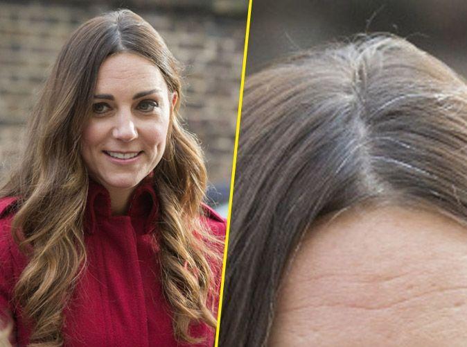 Beaut kate middleton ses cheveux gris font le buzz for Coupe cheveux kate middleton