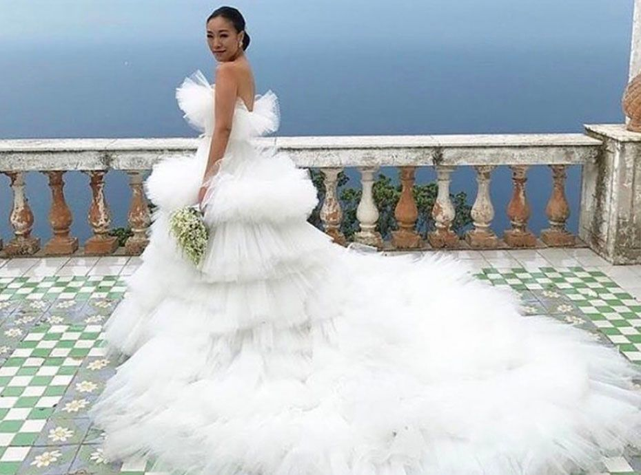 Instagram  Cette robe de mariée signée Gambattista Valli fait l\u0027unanimité