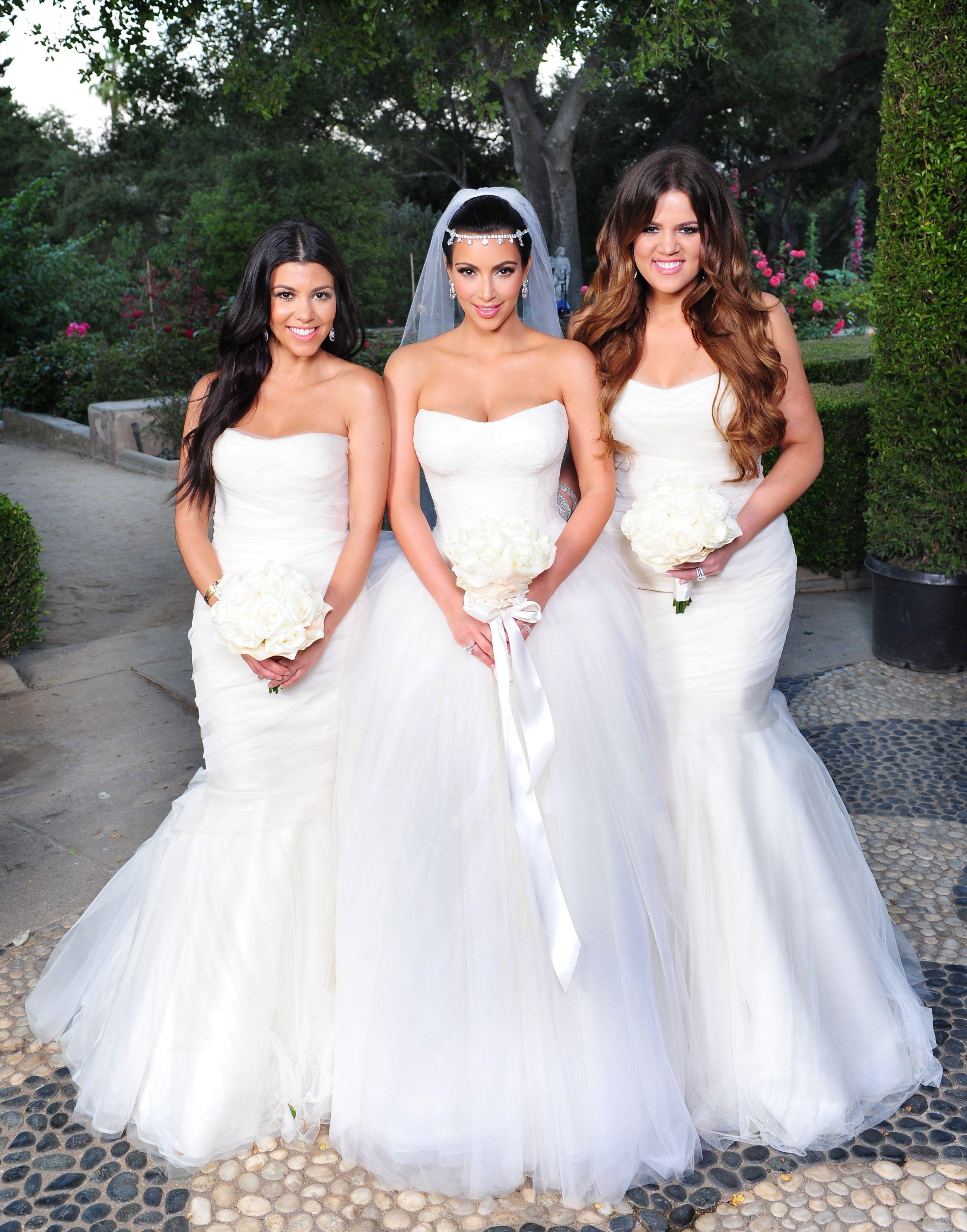 Mode Kim Kardashian Sa Robe De Mariée Kanye West Sen