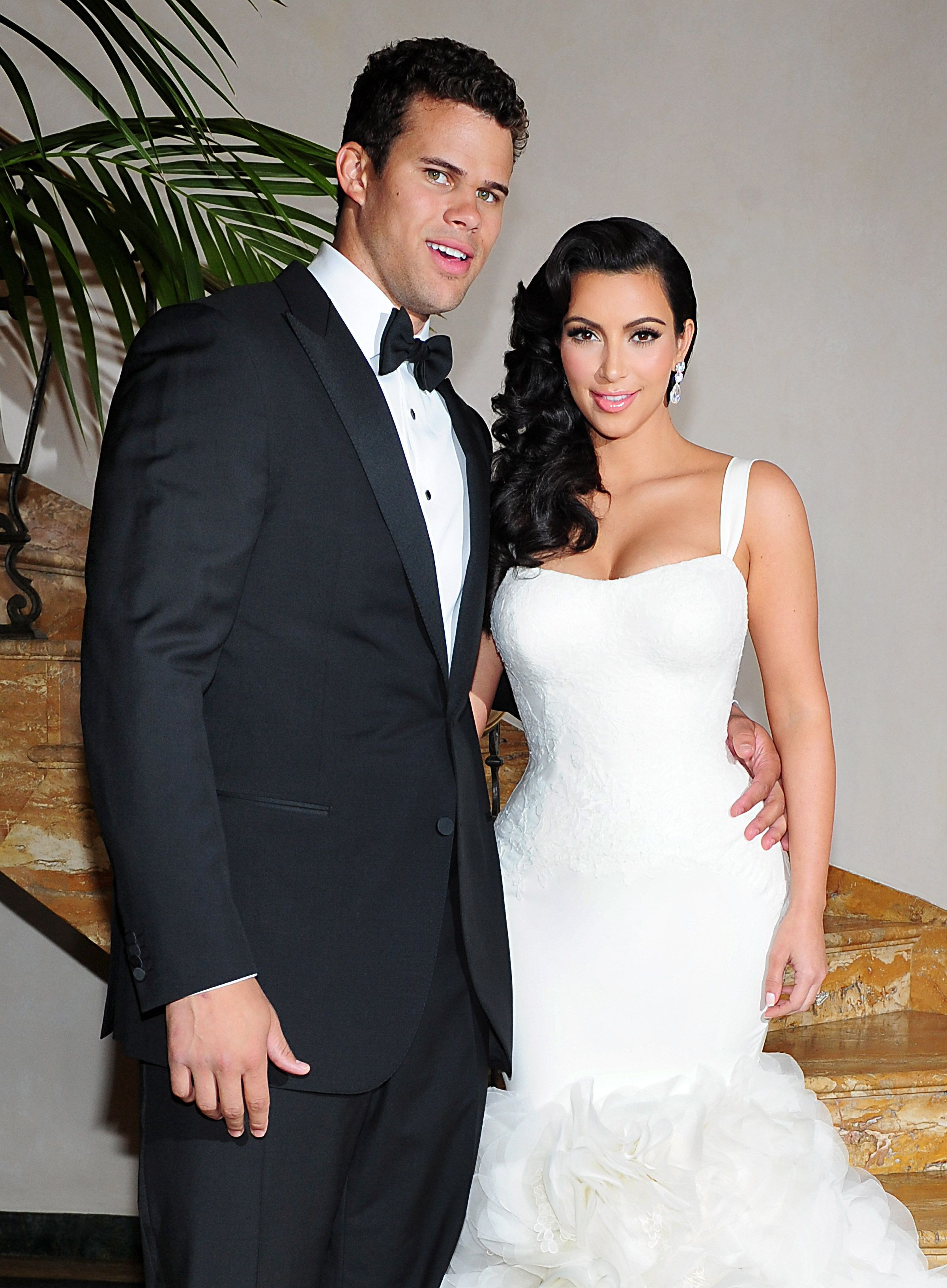 Kim Kardashian Wedding Dress Kris Kim Kardashian Childhood