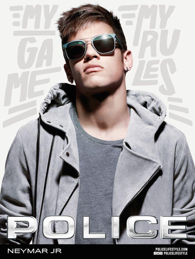 52dd01ed0c2854 Mode   Neymar   le joueur de foot brésilien égérie des lunettes de soleil  Police !