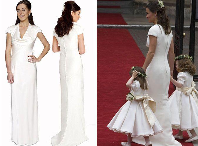 Robe mariage pippa middleton for Katie peut prix de robe de mariage