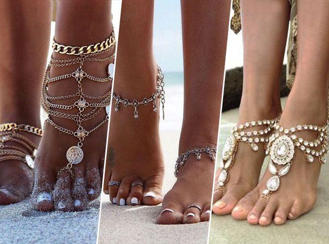 Photos t 2018 les bijoux de pied ont la c te - Vernis pied ete 2017 ...