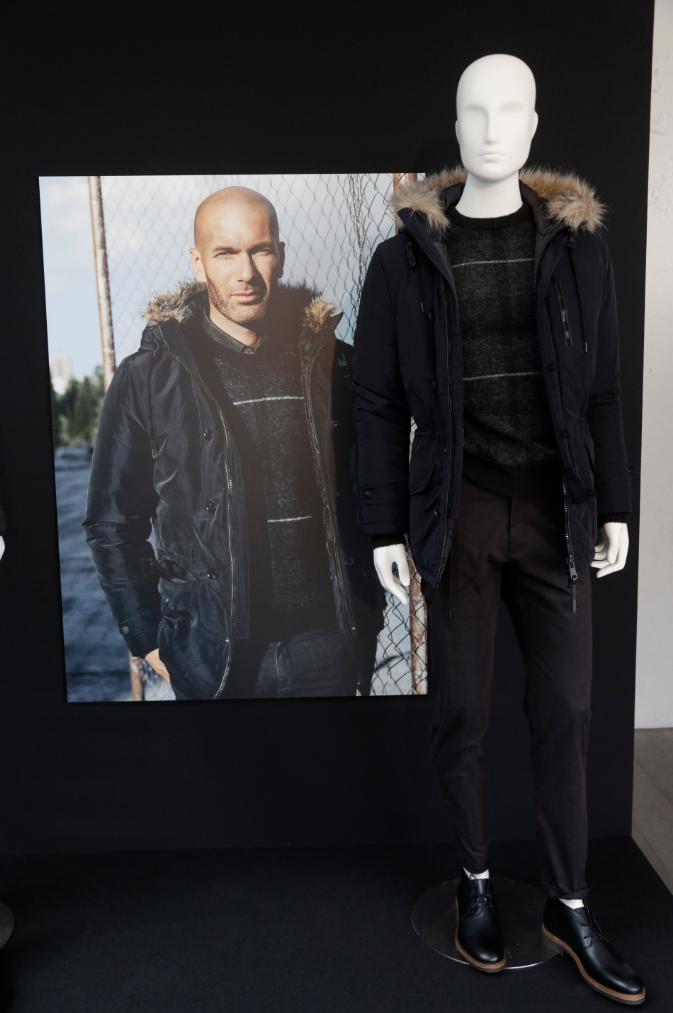 Photos   Zinedine Zidane   tombeur et mystérieux pour Mango Man ! d1711b39ed21