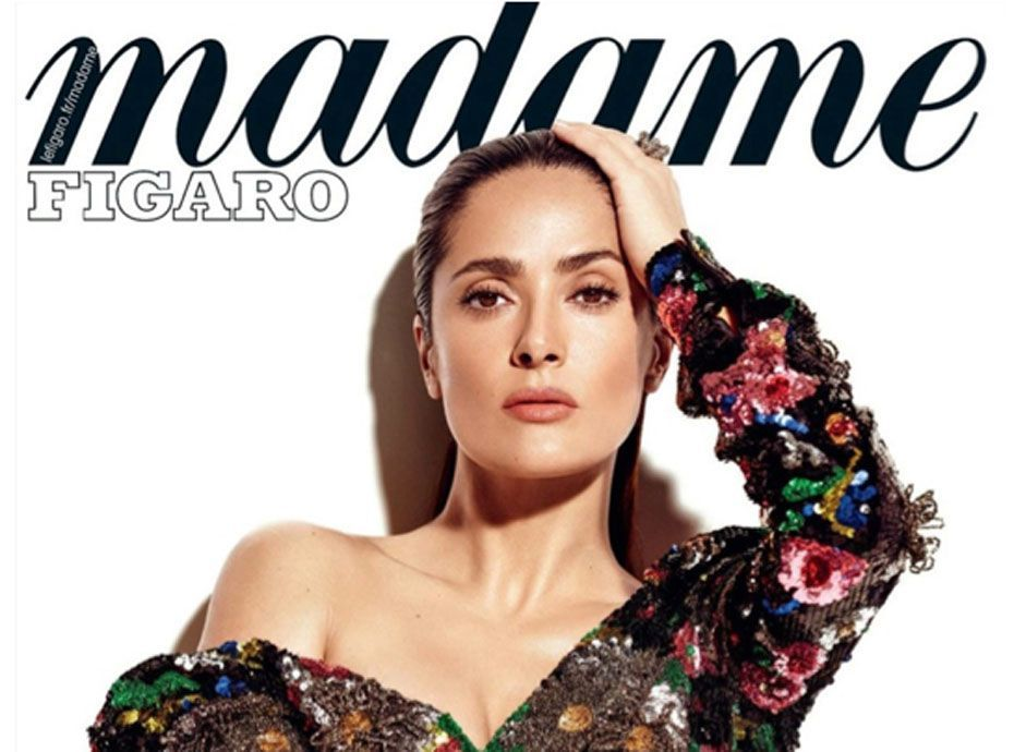 Salma Hayek   48 ans et toujours aussi sexy pour Madame Figaro ! 0cdad60ef3f
