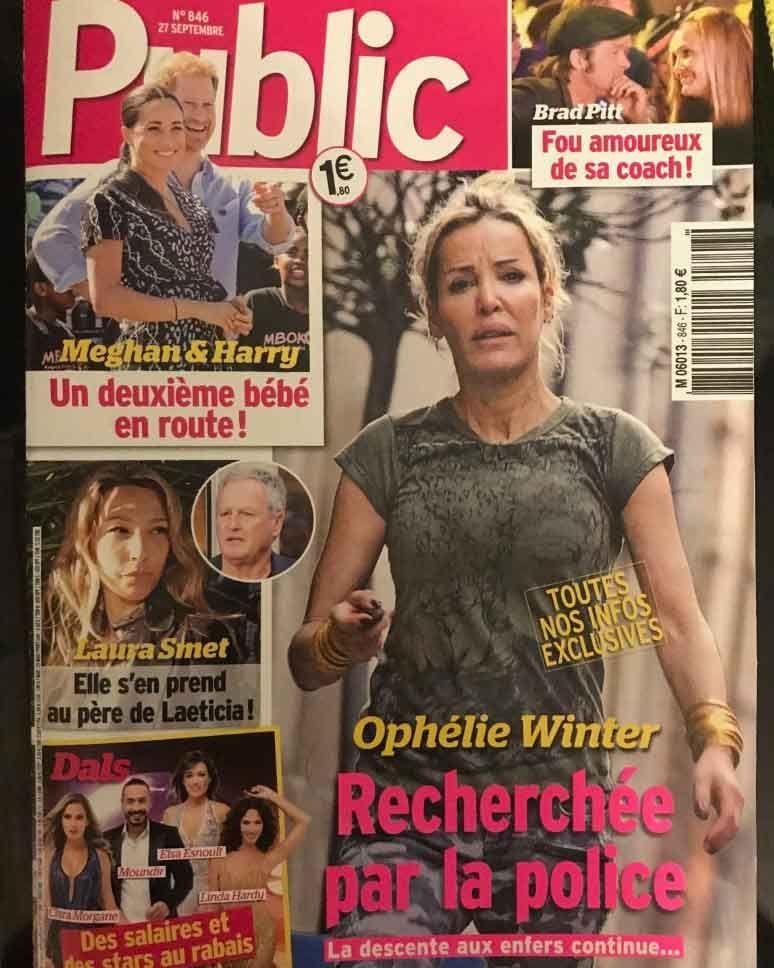 La police recherche activement la chanteuse pour la protéger — Ophélie Winter
