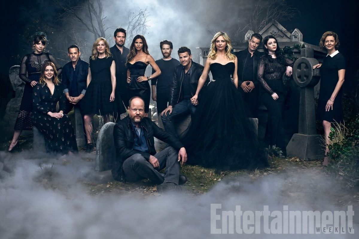 Le casting de la série Buffy contre les Vampires réunit pour les 20 ans de la série – Entertainment Weekly