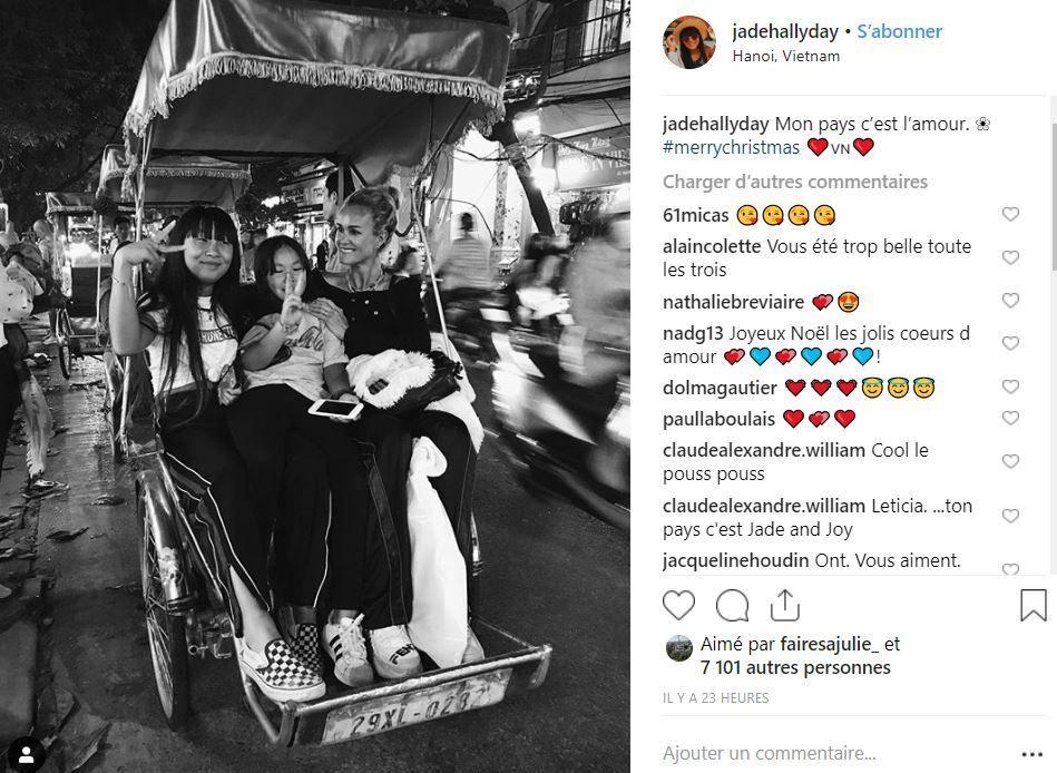 Johnny Hallyday: l'émouvant hommage de sa fille Jade pour Noël (photos) - Bénin Web TV