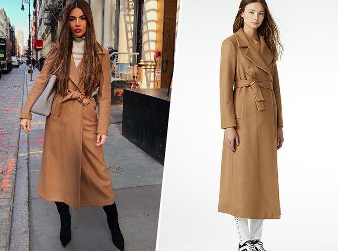 buy online 13ef2 9ed3f Shopping copie conforme : Le manteau camel LIU JO de Negin ...
