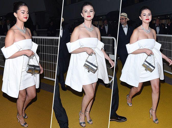 GomezCette Selena Robe Tout Blanche Le Monde Petite Rendu A Qui uPkiZX