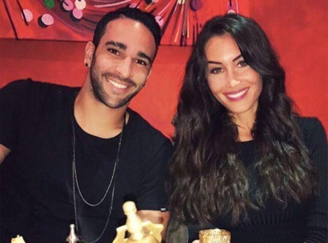 Adil Rami et Sidonie Biémont : retrouvailles en Turquie !