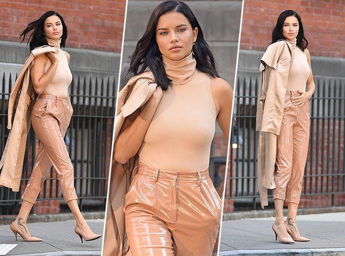 Adriana Lima : on copie son total look nude en moins cher