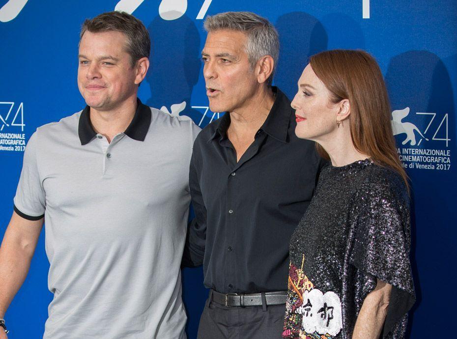 Affaire Weinstein : Matt Damon et George Clooney se défendent !