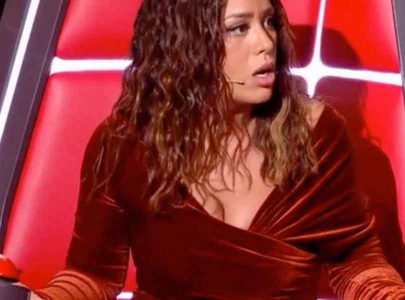 Amel Bent makes a big dumpling in The Voice: the