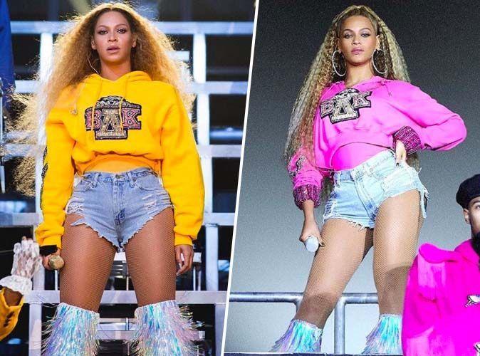 Balmain x Beyoncé : Les pulls que Beyoncé portait durant Coachella sont disponibles à la vente !