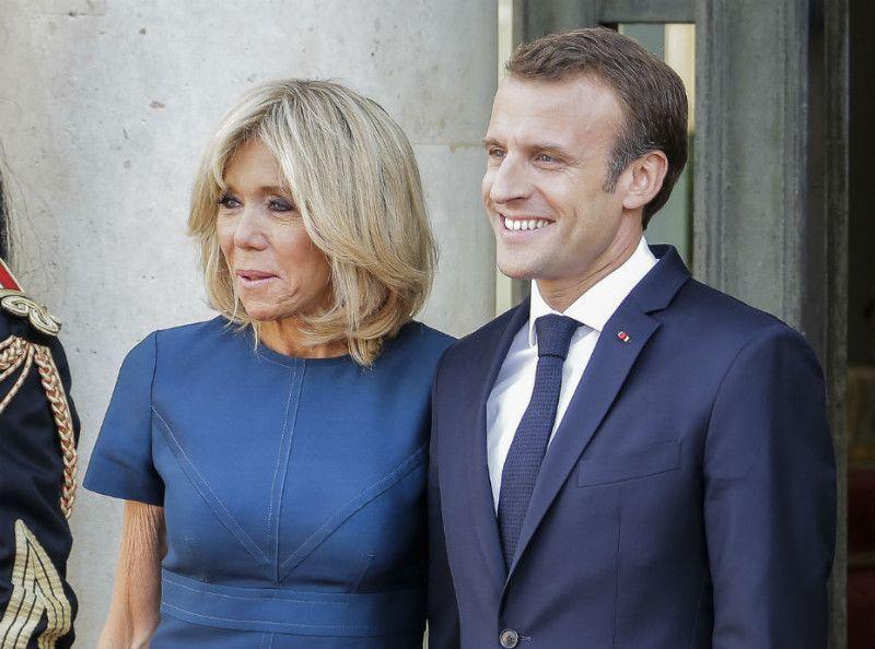 Brigitte Macron : la photo qui va rendre jaloux emmanuel Macron