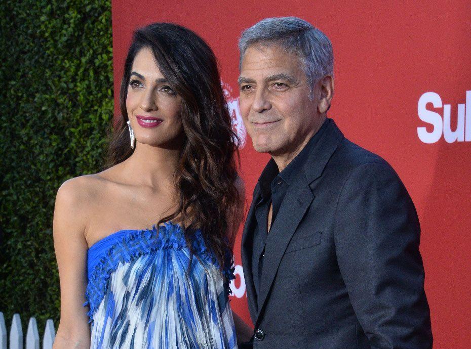 Chez les Clooney, la corvée des couches-culottes est pour George !